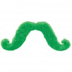 Moustache Party Supplies - Moustaches Green