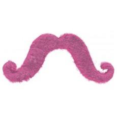 Moustache Party Supplies - Moustaches Pink