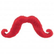 Moustache Party Supplies - Moustaches Red