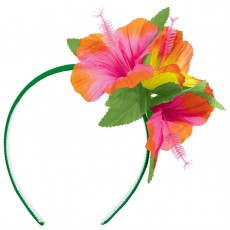 Hawaiian Party Decorations Hibiscus Headband Head Accessories