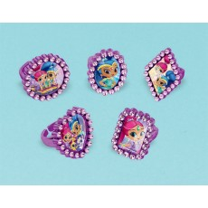 Shimmer & Shine Jewel Rings Favours Child Size Pack of 18