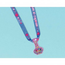 Shimmer & Shine Charm Necklaces Favours Pack of 12