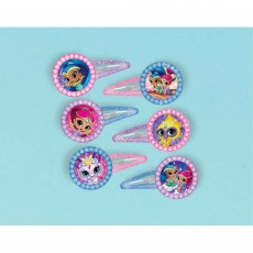 Shimmer & Shine Barrettes Favours Pack of 12