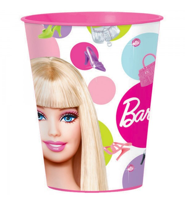 Barbie Plastic Cups 473ml