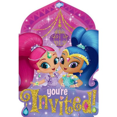 Shimmer Shine Birthday Party Supplies And Decorations Australia