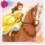 Beauty & the Beast Beverage Napkins 25cm x 25cm Pack of 16