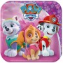 Paw Patrol Lunch Plates 18cm Girls Paper Pack of 8