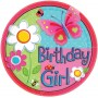 Garden Girl Lunch Plates 17.7cm Pack of 8