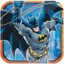 Batman Dinner Plates 23cm Pack of 8 Square