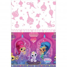 Shimmer & Shine Plastic Table Cover 1.37m x 2.43m