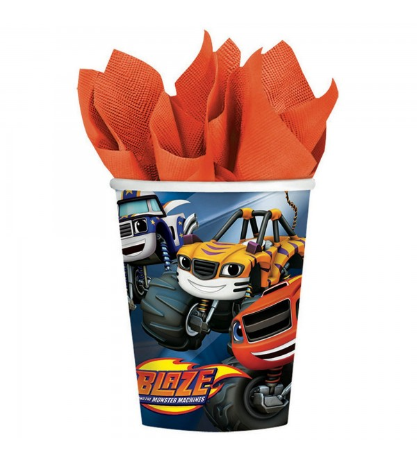 Blaze & The Monster Machines Paper Cups 266ml Pack of 8