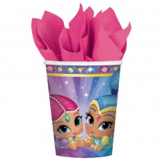 Shimmer & Shine Paper Cups 266ml Pack of 8