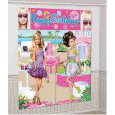 Barbie All Doll'd Up Scene Setters 5 Items