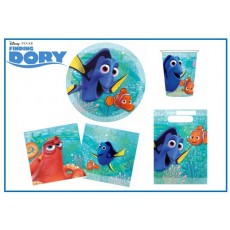 Finding Dory Party Packs For 8 Guests 40 Items