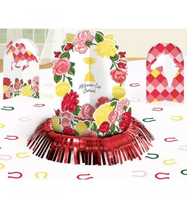 Horse Racing Table Melbourne Cup Carnival Decorating Kits Pack of 23
