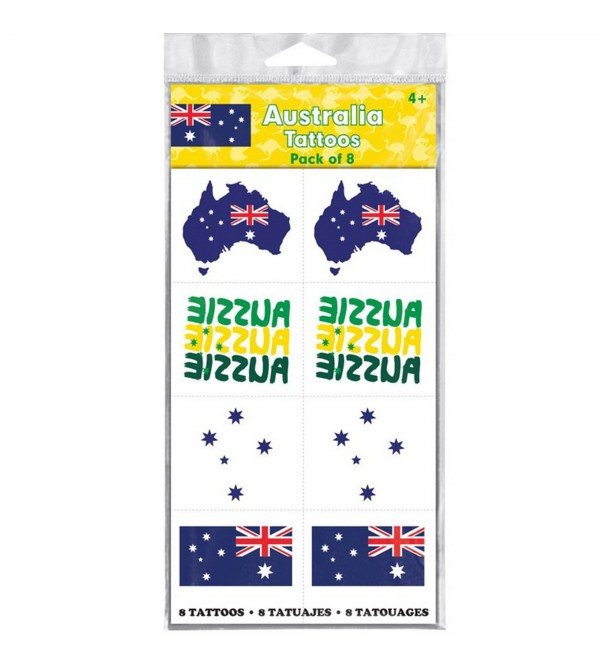 Australia Day Tattoo Favours 8 Tattoos