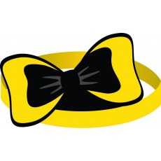 The Wiggles Emma Bow Headbands Party Hats Pack of 8