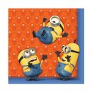 Minions Lunch Napkins 33cm x 33cm Pack of 20