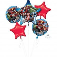 Avengers Assemble Bouquet Foil Balloons Pack of 5