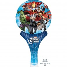 Avengers Assemble CI: Inflate-A-Fun Shaped Balloon 15cm x 30cm