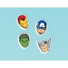 Avengers Epic Erasers Favours Pack of 12