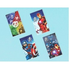 Avengers Epic Notepad Favours Pack of 12