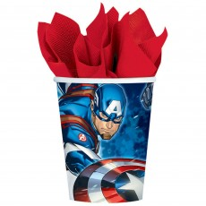 Avengers Epic Paper Cups 266ml Pack of 8