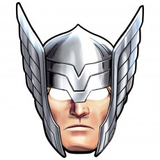 Avengers Epic Party Masks Pack of 8