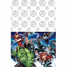 Avengers Epic Plastic Table Cover 1.37m x 2.43m