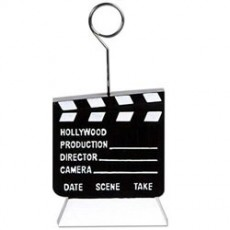 Hollywood Balloon Weights 170g Clapboard Photo Holder