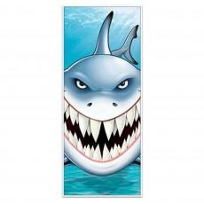 Shark Splash Door Decorations 76cm x 1.83m