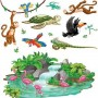 Hawaiian Jungle Tropical Animals Insta-Theme Props Wall Decorations Scene Setters 6cm - 165cm Pack of 13