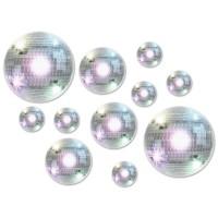 Disco & 70's Cutouts Disco Balls Pack of 20