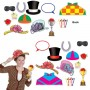 Horse Racing Photo Props Pack of 12