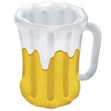 Oktoberfest Inflatable Beer Mug Cooler 45cm x 68cm