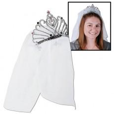 Bridal Shower Tiaras White