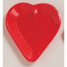 Casino Night Trays Red Card Night Mini Snack Heart
