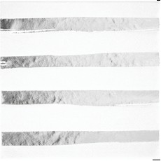 White & Silver Touch of Colour Striped Lunch Napkins Pack of 16