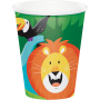 Jungle Safari Paper Cups 266ml Pack of 8