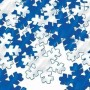 Blue & Silver Christmas Snowflakes Confetti 28g Pack