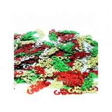 Multi Coloured Merry Christmas Scatters Confetti Pack