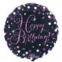 Happy Birthday Foil Balloons 45cm Pink Celebration
