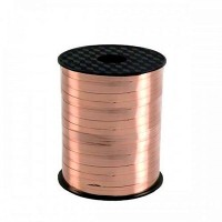 Gold Curling Ribbons 225m Rose Gold Roll