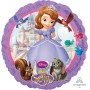 Sofia The First Foil Balloons 45cm Non Message