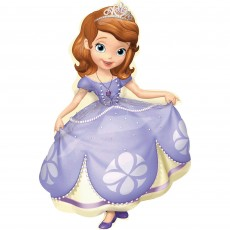 Sofia The First Foil Balloons 88cm Pose