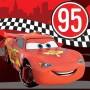 Disney Cars Lunch Napkins 33cm x 33cm Cars 2 Formula Racer Pack of 16