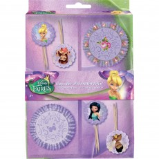 Disney Fairies Cupcake Toppers & Cupcake Cases Pack of 48