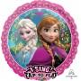 Round Disney Frozen Jumbo XL Singing Balloon 71cm