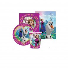 Disney Frozen Party Packs For 8 Guests Pack of 40