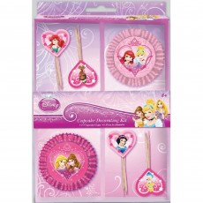 Disney Princess Picks & Cupcake Cases Pack of 48
